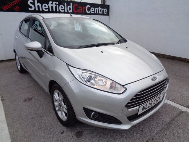 USED 2015 15 FORD FIESTA 1.2 ZETEC 5d 81 BHP £150 A MONTH ALLOY WHEELS BLUETOOTH  AIR CONDITIONING ELECTRIC WINDOWS CENTRAL LOCKING FULL SERVICE HISTORY