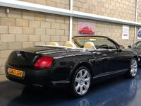 USED 2007 07 BENTLEY CONTINENTAL 6.0 GTC Convertible 2dr Petrol Automatic (410 g/km, 552 bhp) +FULL SERVICE+WARRANTY+FINANCE