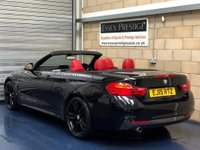 USED 2015 15 BMW 4 SERIES 2.0 420d M Sport Convertible 2dr Diesel Manual (137 g/km, 184 bhp) +FULL SERVICE+WARRANTY+FINANCE