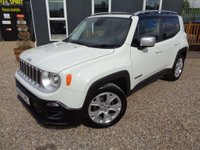 USED 2015 15 JEEP RENEGADE 1.4 T MultiAirII Limited (s/s) 5dr Nav, Leather, DAB, Phone