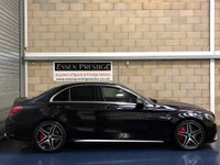 USED 2017 17 MERCEDES-BENZ C CLASS 4.0 C63 V8 BiTurbo AMG S Saloon 4dr Petrol SpdS MCT (s/s) (510 ps) +FULL SERVICE+WARRANTY+FINANCE