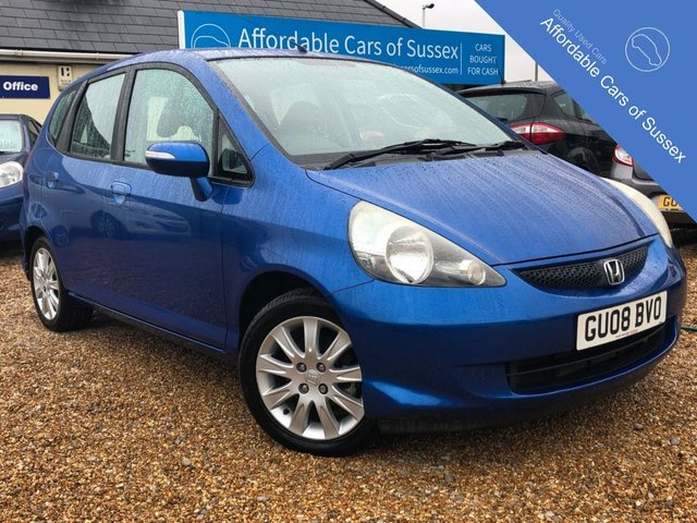 2008 08 HONDA JAZZ 1.3 SE 5d AUTOMATIC
