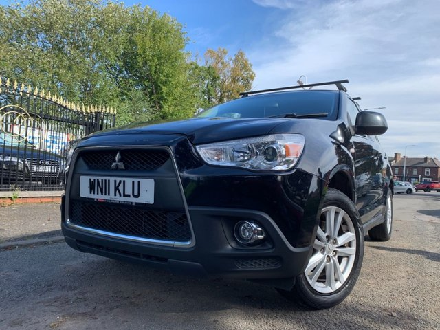 USED 2011 11 MITSUBISHI ASX 1.8 DI-D 3 5d 147 BHP KEYLESS ENTRY AND START+ALLOYS+HEAT SEATS+CLIMATE+CRUISE+ELECS+CD+