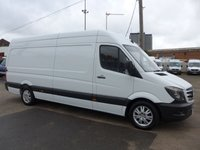 2017 MERCEDES-BENZ SPRINTER 314 CDI LWB, 140 BHP [EURO 6], LOW MILES £SOLD