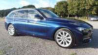 USED 2016 16 BMW 3 SERIES 2.0 320D LUXURY TOURING 5d 188 BHP SERVICE HISTORY, 2 X KEYS, LOW ROAD TAX, SUPERB MPG, SATELITE NAVIGATION, ALLOY WHEELS, KEY LESS GO, BLUE-TOOTH, REMOTE LOCKING, FULL LEATHER TRIM, PARKING SENSORS, ELECTRIC WINDOWS, ELECTRIC MIRRORS, METALLIC PAINT,