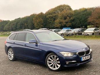 2016 BMW 3 SERIES 2.0 320D LUXURY TOURING 5d 188 BHP £7500.00