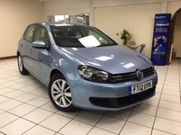 2012 VOLKSWAGEN GOLF 1.6 MATCH TDI BLUEMOTION TECHNOLOGY DSG 5d AUTO 103 BHP £6795.00