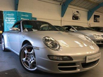 2007 PORSCHE 911 3.8 CARRERA 4 TIPTRONIC S 2d AUTO 350 BHP
