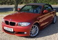 """USED 2010 L BMW 1 SERIES 2.0 118D M SPORT 2d AUTO 141 BHP/ PARKING SENSORS BEAUTIFUL BMW 1 SERIES 2.0 118D M SPORT 2 DR CONVERTIBLE WITH LOW MILEAGE 56K MILEAGE/ COMES WITH PARKING SENSORS/ METALLIC PAINT COLOUR/ M SPORT PACKAGE/ SERVICE HISTORY/ NEW SERVICE @56K MILEAGE/ ROAD TAX £160,- ANNUAL /2 KEYS/ WARRANTY/ HPI CLEARED/  BOOK A TEST DRIVE TODAY! APPLY FOR A CAR FINANCE ON OUR WEBSITE PAGE """"FINANCE"""""""