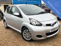 USED 2010 59 TOYOTA AYGO 1.0 PLATINUM VVT-I AUTOMATIC Low Mileage 5 door Petrol Automatic