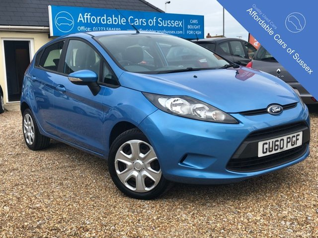2010 60 FORD FIESTA 1.2 EDGE 5d 81 BHP