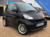 USED 2008 08 SMART FORTWO 1.0 PASSION 2d AUTO 70 BHP Panoramic Roof + Low Mileage + £30 Tax