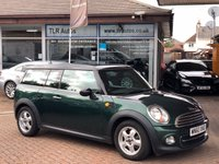 USED 2010 60 MINI CLUBMAN 1.6 COOPER D 5d 112 BHP Free MOT for Life