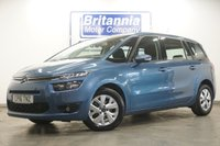 USED 2016 16 CITROEN C4 GRAND PICASSO 1.6 BLUEHDI DIESEL VTR PLUS + 7 SEATER AUTOMATIC 118 BHP
