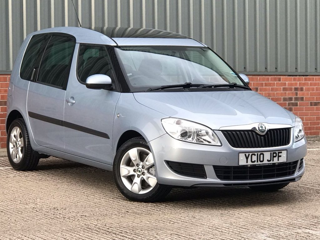 USED 2010 10 SKODA ROOMSTER 1.2 SE TSI DSG 5d AUTO 103 BHP EXCELLENT LOW MILEAGE EXAMPLE