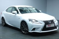 USED 2015 15 LEXUS IS 2.5 300H F SPORT 4d 220 BHP NAV+LEATHER+PARK SENSORS+ALLOYS+CRUISE CONTROL+CLIMATE CONTROL