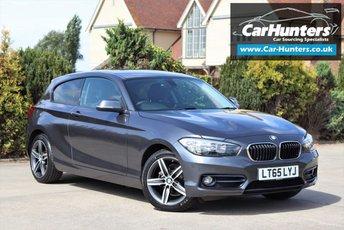 2015 BMW 1 SERIES 1.5 118I SPORT 3d 134 BHP £10995.00