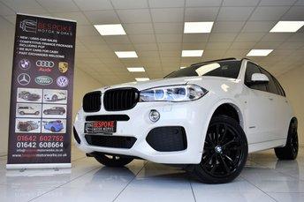 2015 BMW X5 XDRIVE30D 3.0 M SPORT 5 DOOR £27995.00