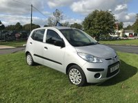 USED 2009 59 HYUNDAI I10 1.2 CLASSIC 5 DOOR AIRCON FSH 7 STAMPS
