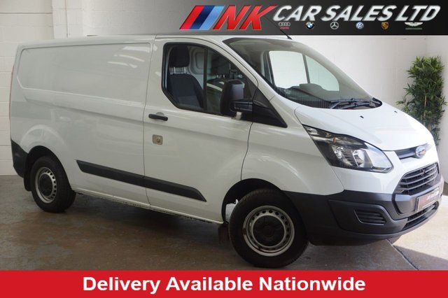 2015 15 FORD TRANSIT CUSTOM 2.2TDCI 100 270  SWB LR ECONETIC SOLD TO STELLE STEEL STRUCTURES FROM SHEFFIELD