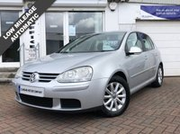 USED 2006 56 VOLKSWAGEN GOLF 1.6 MATCH FSI 5d AUTO 114 BHP 12 MONTHS MOT WHEN SOLD - NEW TIMING BELT KIT WILL BE FITTED - AUTOMATIC