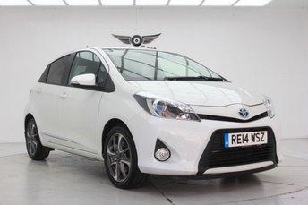 2014 TOYOTA YARIS 1.5 HYBRID TREND 5d AUTO 61 BHP £8240.00
