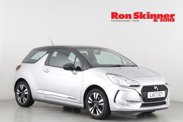 View our 2017 17 DS DS 3 1.2 PURETECH CHIC 3d 80 BHP