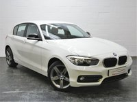 USED 2015 15 BMW 1 SERIES 1.6 118I SPORT 5d AUTO 134 BHP 1 OWNER + JUST BEEN SERVICED + SAT NAV + BLUETOOTH