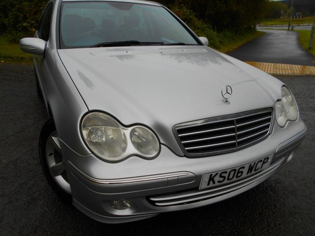 2006 06 MERCEDES-BENZ C CLASS 1.8 C180 KOMPRESSOR AVANTGARDE SE 4d AUTO 141 BHP ** ONE PREVIOUS OWNER, AUTOMATIC, ALLOYS AND YES ONLY 85K FROM NEW **