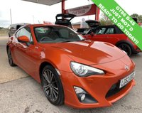 USED 2012 62 TOYOTA GT86 2.0 D-4S 2d 197 BHP 1 OWNER RARE CAR