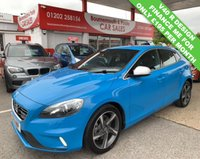 USED 2014 14 VOLVO V40 1.6 D2 R-DESIGN LUX 5d AUTO 113 BHP *ONLY 52,000 MILES*