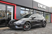 USED 2016 16 SEAT LEON 2.0 TSI CUPRA DSG 5d AUTO 286 BHP HERE AT ENKAE WE ARE A WELL ESTABLISHED CAR SALES BUSINESS SPECIALISING IN HIGH QUALITY SPORTS, PERFORMANCE & PRESTIGE VEHICLES. WE ARE DELIGHTED TO OFFER THIS SEAT LEON CUPRA FR 290 BHP MODEL, THIS VEHICLE COMES FULLY EQUIPPED WITH SAT.NAV, UPGRADED CUPRA  ALLOY WHEELS FRONT AND REAR PARKING SENSORS. ALSO FOR YOU PETROL HEADS OUT THERE THIS SEAT LEON CUPRA FR ALSO COME WITH A NON RESONATED DOWN PIPE UPGRADE EXHAUST AND A DIRECT SEQUENTIAL GEAR BOX.