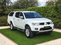 USED 2013 63 MITSUBISHI L200 2.5 DI-D 4X4 BARBARIAN LB DCB 1d 175 BHP A Fantastic Example with a Full Service History and a Great Specification Including Full Black Leather, Satellite Navigation, Front & Rear Parking Sensors with Reversing Camera, 17 Inch Alloy Wheels, Factory Fitted Side Steps, Towbar with Electrics, Lockable Hard Back with Load Liner, Climate Control, Leather Multi Function Steering Wheel, Cruise Control with Speed Limiter, Privacy Glass and Heated Electric Powerfold Mirrors. It Features M-ASTC (Mitsubishi Active Stability and Traction Control)