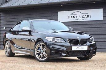 2016 BMW 2 SERIES 3.0 M240I 2d AUTO 335 BHP £22995.00