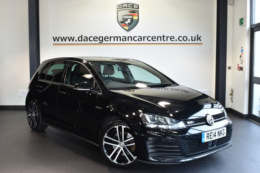 USED 2014 14 VOLKSWAGEN GOLF 2.0 GTD 5DR 181 BHP full service history Finished in a stunning  black styled with alloys .Upon opening the drivers door you are presented with sport upholstery, full service history, bluetooth, xenon lights, cruise control, dab radio, heated electric folding mirrors, air con, usb/aux port, parking sensors