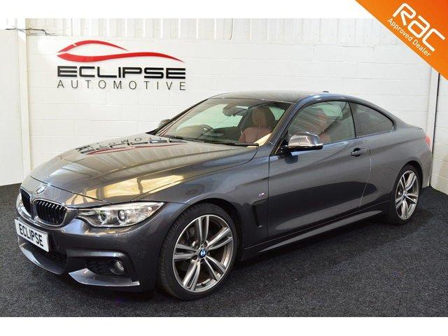 2013 63 BMW 4 SERIES 2.0 420D M SPORT 2d AUTO 181 BHP