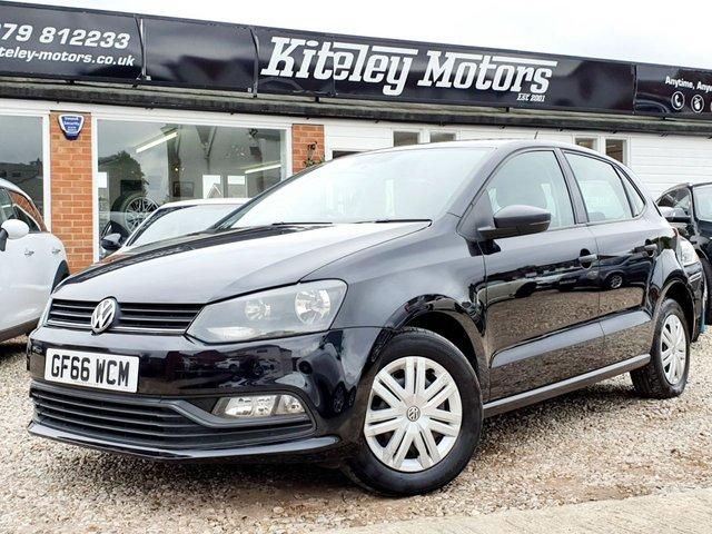 2016 66 VOLKSWAGEN POLO 1.0 S AC 5DR £20 ROAD TAX!