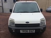 USED 2006 06 FORD TRANSIT CONNECT 1.8 T200 L SWB 1d 74 BHP