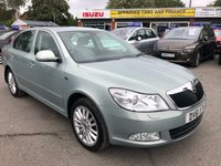 2011 SKODA OCTAVIA 1.8 LAURIN & KLEMENT TSI DSG 5d AUTO 159 BHP IN METALLIC LIGHT BLUE WITH ONLY 49000 MILES, FULL SERVICE HISTORY, 1 OWNER AND IS ULEZ COMPLIANT  £6799.00