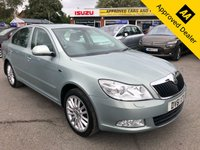 USED 2011 61 SKODA OCTAVIA 1.8 LAURIN & KLEMENT TSI DSG 5d AUTO 159 BHP IN METALLIC LIGHT BLUE WITH ONLY 49000 MILES, FULL SERVICE HISTORY, 1 OWNER AND IS ULEZ COMPLIANT  Approved Cars are pleased to offer this 2011 Skoda Octavia 1.8 TSI Automatic Laurin & Klement edition. This vehicle has been really well looked after and has only done 49000 miles with service stamps at 10k, 20k, 27k, 34k, 40k and 47k miles. This is a very clean car and will make an ideal family car. The car comes with a full grey leather interior, front and rear parking sensors, 6 disc cd changer, DAB radio, Traffic updates, fully automatic gearbox with sports mode and much much more.