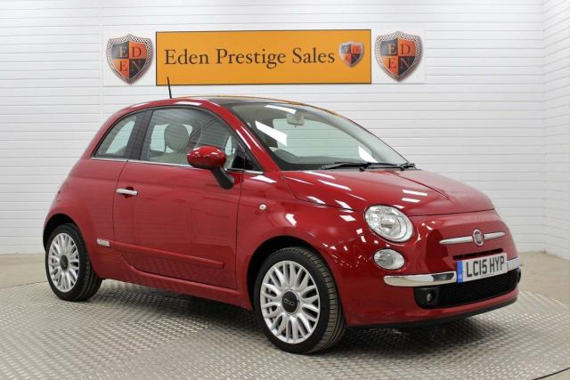 USED 2015 15 FIAT 500 1.2 Lounge (s/s) 3dr