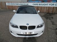 USED 2011 02 BMW 1 SERIES 2.0 118D SE 2d AUTO 141 BHP