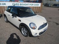 USED 2011 11 MINI HATCH COOPER 1.6 COOPER 3d 122 BHP