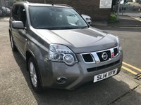 USED 2014 14 NISSAN X-TRAIL 2.0 ACENTA DCI 5d 171 BHP