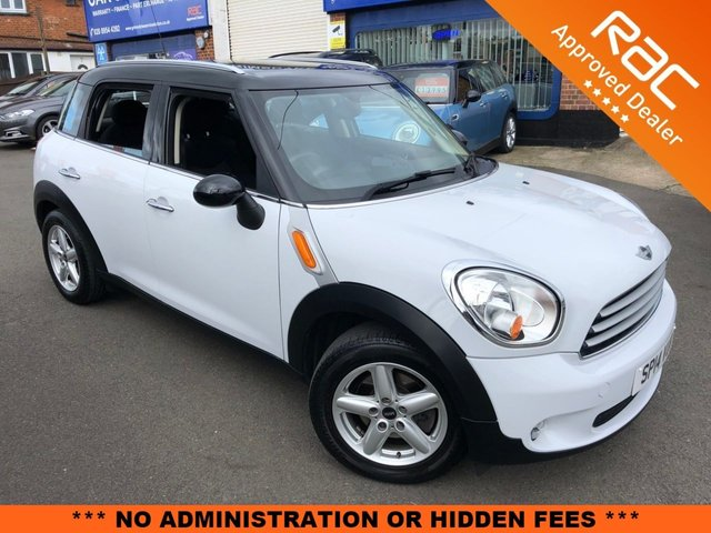 2014 14 MINI COUNTRYMAN 1.6 COOPER 5d AUTO 122 BHP [PEPPER PACK]