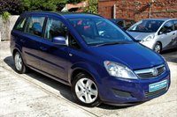 USED 2013 13 VAUXHALL ZAFIRA 1.6 EXCLUSIV 5d 113 BHP **** ONE OWNER ****