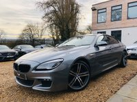USED 2016 16 BMW 6 SERIES 3.0 640D M SPORT GRAN COUPE 4d AUTO 309 BHP