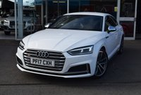 USED 2017 17 AUDI S5 3.0 S5 SPORTBACK TFSI QUATTRO 5d AUTO VIRTUAL COCKPIT FINANCE TODAY WITH NO DEPOSIT