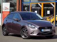 """USED 2015 65 MAZDA 2 1.5 Sport 5dr *7"""" Touch Screen + DAB Radio*"""
