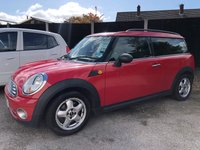 USED 2010 10 MINI CLUBMAN 1.6 ONE CLUBMAN FIVE DOOR AUTO 98 BHP